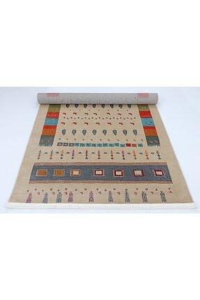 Nakka Halı Renkli Eskitme Vıntage Koleksiyon Halı  Al26a 4