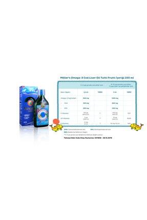 Mollers Tutti-frutti Aromalı Omega-3 Balık Yağı Şurubu 250 ml 1
