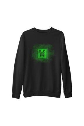 Lord T-Shirt Erkek Siyah Kalın Sweatshirt 0