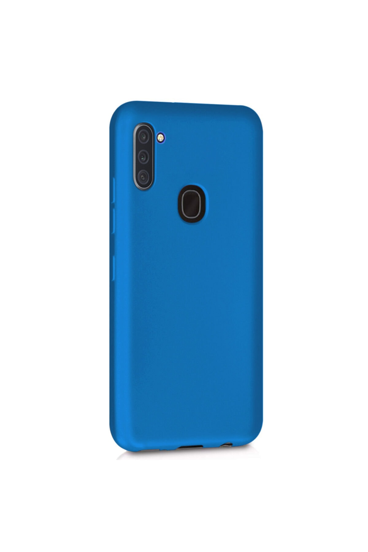 Samsung Microsonic Matte Silicone Galaxy A11 Kılıf Mavi