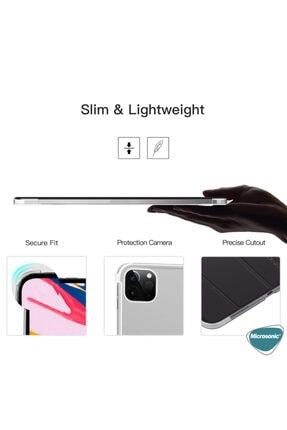 Apple Microsonic Ipad Pro 11'' 2020 2. Nesil Kılıf (a2228-a2068-a2230) Smart Case Ve Arka Kapak Mor 4