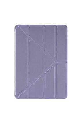 "Samsung Microsonic Galaxy Tab S6 Lite 10.4"" P610 Kılıf Origami Pencil Lila 1"