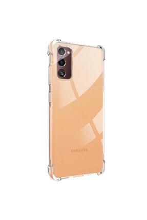 Samsung Microsonic Galaxy S20 Fe Kılıf Shock Absorbing Şeffaf 1