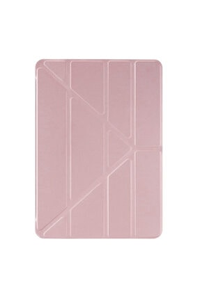 "Samsung Microsonic Galaxy Tab S6 Lite 10.4"" P610 Kılıf Origami Pencil Rose Gold 1"