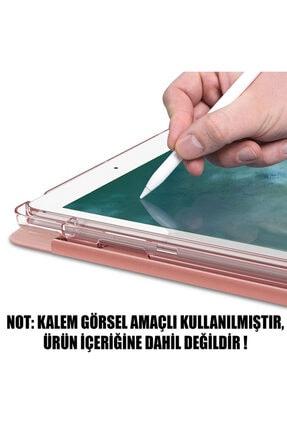 "Samsung Microsonic Galaxy Tab S6 Lite 10.4"" P610 Kılıf Origami Pencil Rose Gold 2"