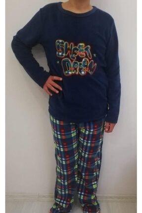 Haluk Bayram Ba Ha Polar Pijama Takımı Lacivert 0