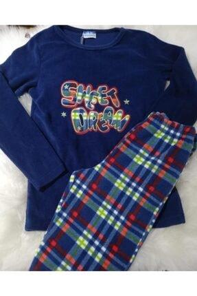 Haluk Bayram Ba Ha Polar Pijama Takımı Lacivert 2