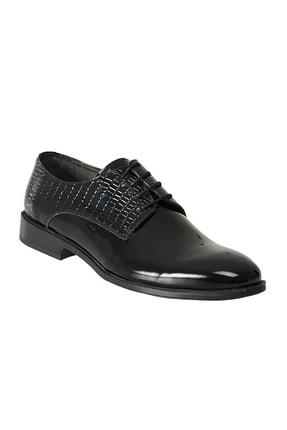 Altınyıldız Classics Erkek Siyah Klasik Rugan Ayakkabı 0