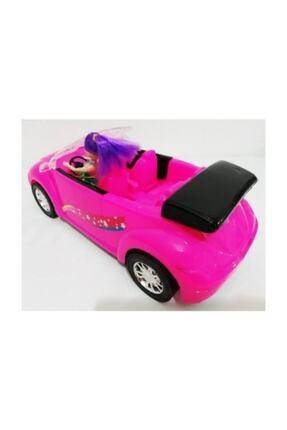 DLN 36 Cm Barbie Arabası Pembe King Toys Evcilik Kız Oyuncak 1