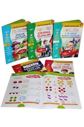 Çocuk Gezegeni 1. Sınıflar Için Pratik Matematik Serisi 6 Kitap - Meb Müfredatın 0