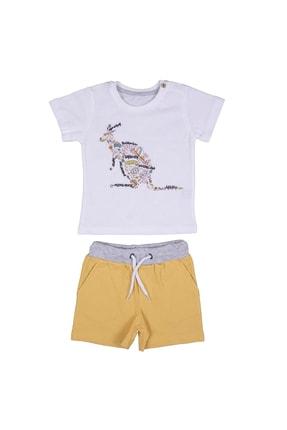 Canyon Kangaroo T-shirt Şort Erkek Çocuk Takım ILQ3819