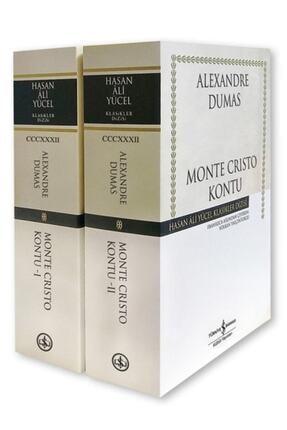 TÜRKİYE İŞ BANKASI KÜLTÜR YAYINLARI Monte Cristo Kontu 2 Cilt Karton Kapak 0