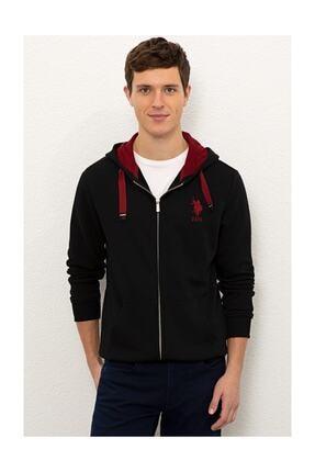 US Polo Assn Erkek Siyah Sweatshirt G081sz082.000.1082420 0
