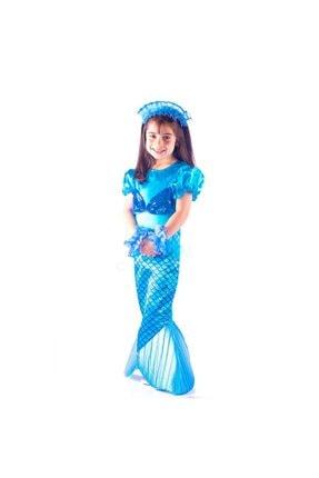 OULABİMİR Deniz Kızı Kostümü Çocuk Kıyafeti 0
