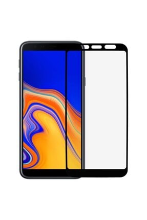 Three Star Samsung J4 Plus Siyah 6d Renkli Nano Ekran Koruyucu Tam Kaplayan Kırılmaz Esnek Cam 0