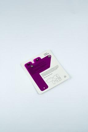 Badger Collection Katlanır Anahtarlık - Unisex Mor Anahtarlık 2