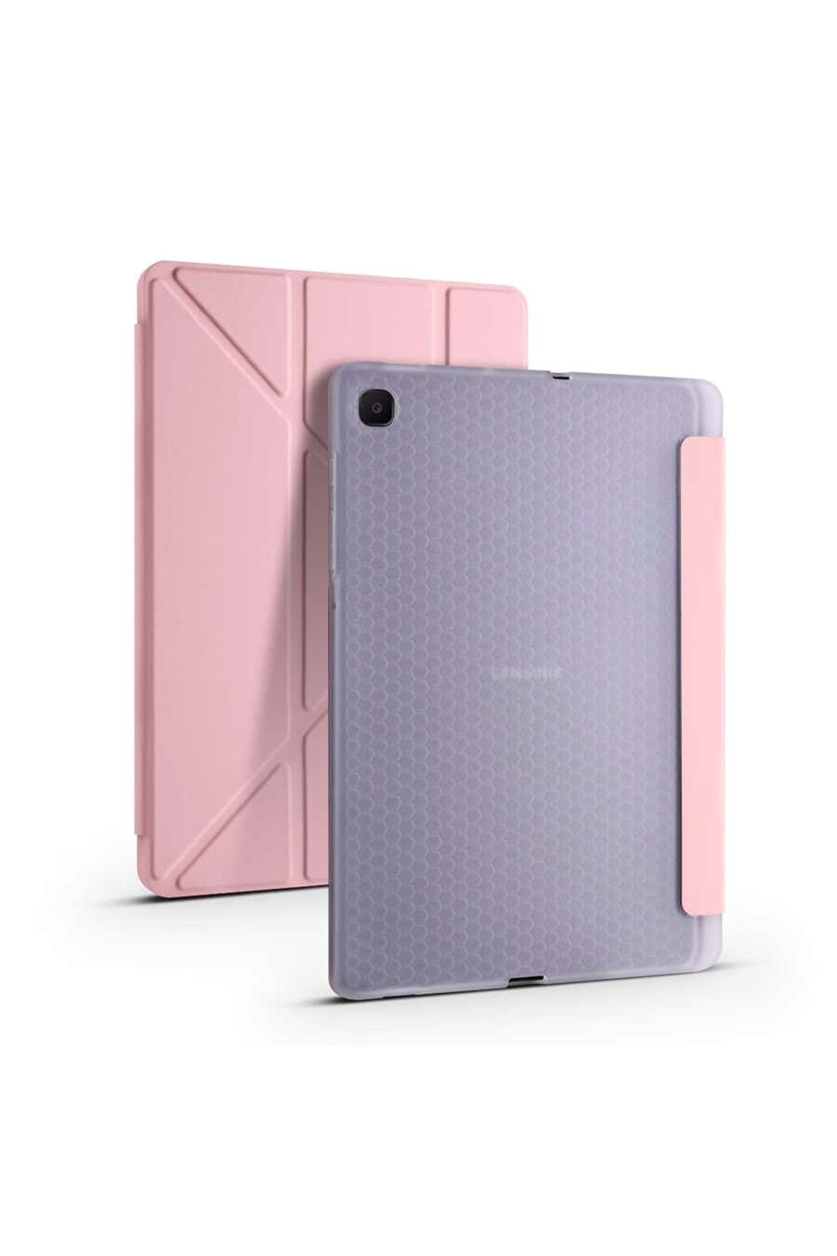 Galaxy Tab S6 Lite P610 Kılıf Kalemlikli Standlı Katlanabilen Maximum Koruma