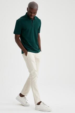 Defacto Regular Fit Polo Yaka Basic Tişört 1
