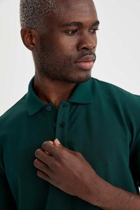 Defacto Regular Fit Polo Yaka Basic Tişört 2