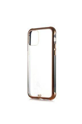 Zore Iphone 11 Uyumlu Kılıf Altın Renki Kenarları Pastel Boyalı Voit Model Kapak 0