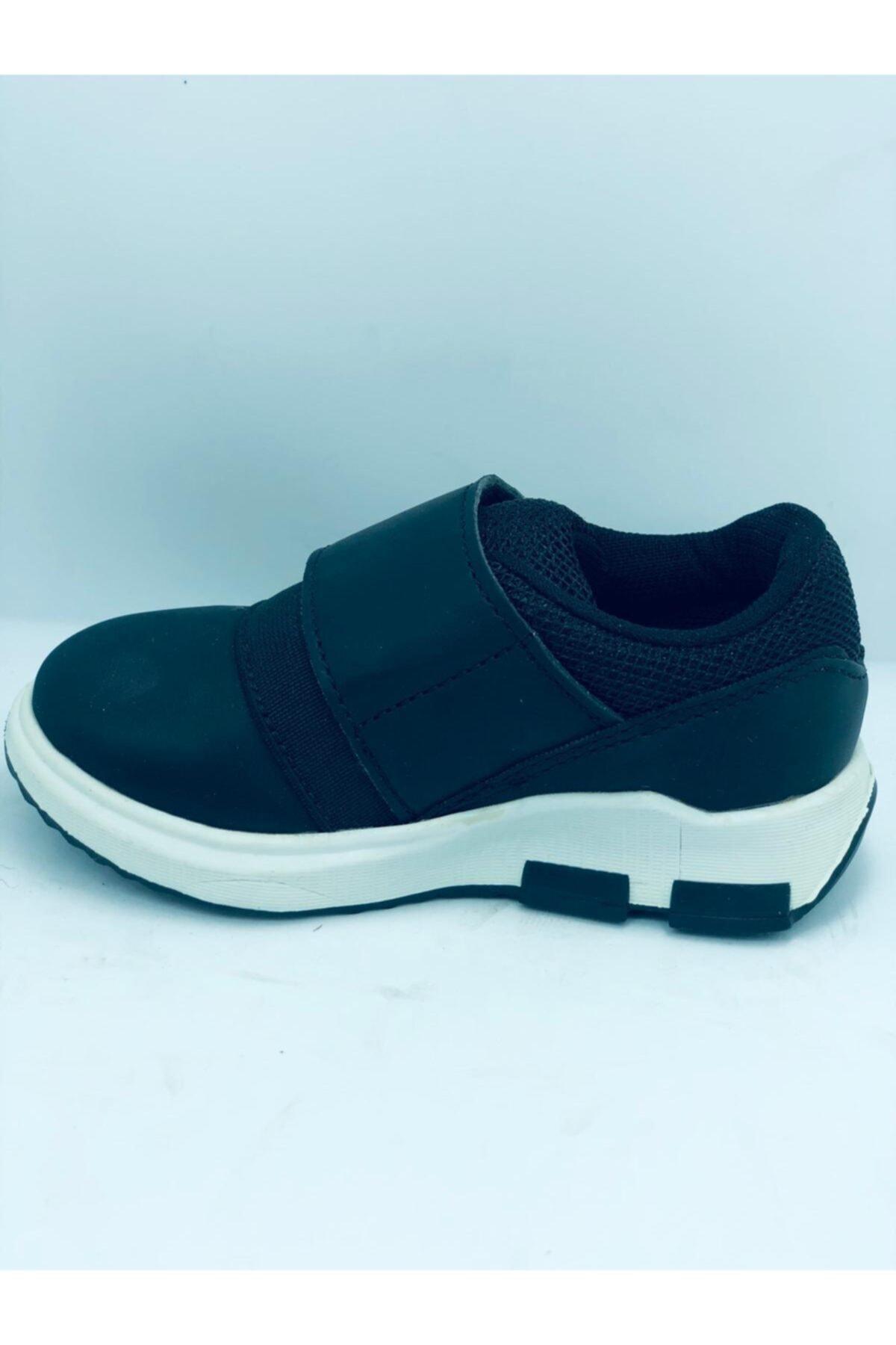 Vicco Bantlı Siyah Unısex Çocuk Ayakkabı