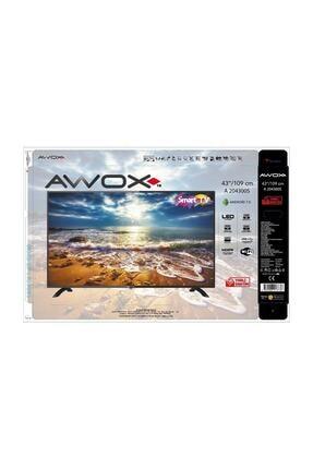 """AWOX A 204300S 43"""" 109 Ekran Uydu Alıcılı Full HD LED TV 2"""
