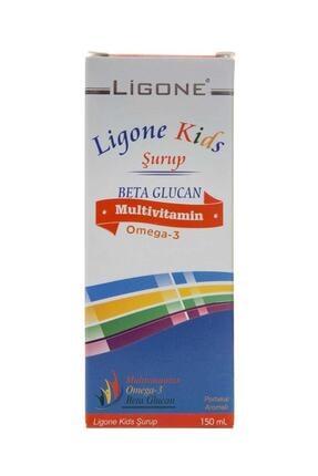 Ligone Kids Multivitamin Şurup 150 ml - Portakal 0