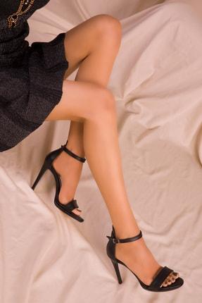 Soho Exclusive Siyah Kadın Klasik Topuklu Ayakkabı 14530 2
