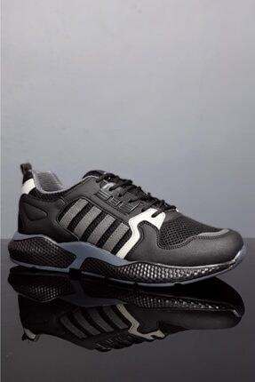 Moda Frato Unisex Siyah Gri Spor Ayakkabı Wn 4031x 1