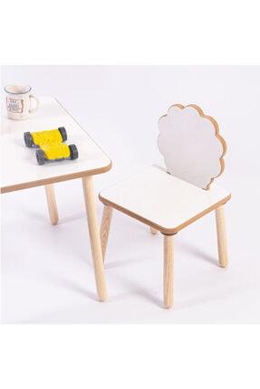 HESA Yumurcak Ağaç Masa Sandalye Takımı 3