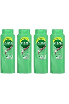 Elidor Sağlıklı Uzayan Saçlar Biotin Şampuan 4x650 ml 0