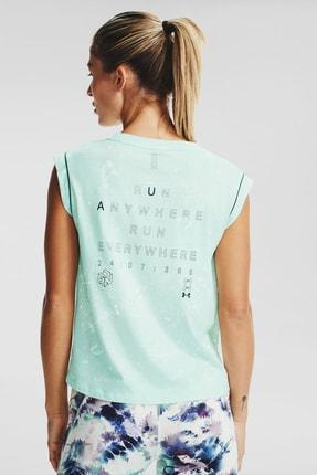 Under Armour Kadın Spor T-Shirt - Ua Run Anywhere Ss - 1356220-403 1