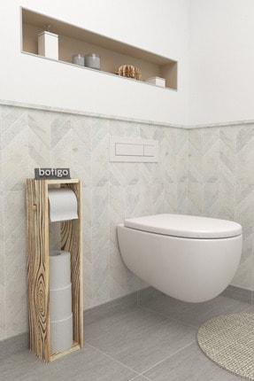 Tuvalet Kağıtlığı Wc Kağıtlığı Ahşap Tuvalet Kağıtlık bfg-wc-kg1