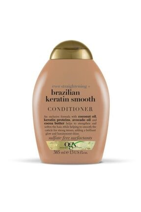 OGX Brazilian Keratin Smooth Sülfatsız Bakım Kremi 385 ml 0