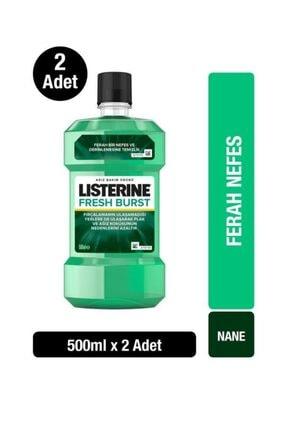 Listerine Fresh Burst Ağız Bakım Suyu 500 ml X2 1