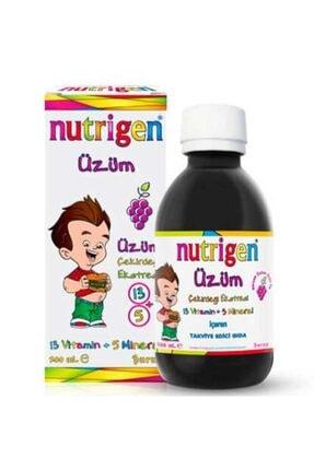 Nutrigen Üzüm Çekirdeği Ekstreli Vitamin Şurubu 200 ml 0