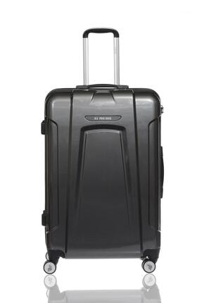 US Polo Assn Plvlz8061a Gri Unisex Büyük Boy Bavul 0