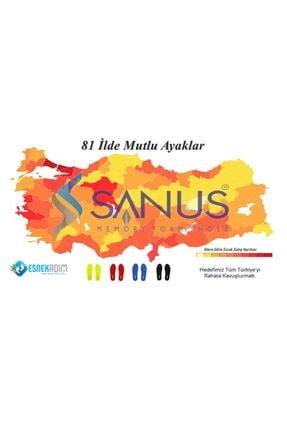 SANUS Kadın Çok Renkli Desenli 3'lü Örme  Çorap 1