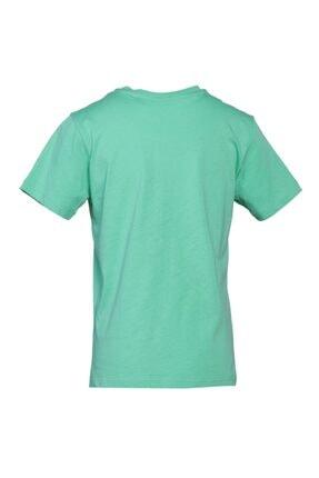 HUMMEL HMLBUCKET T-SHIRT Yeşil Erkek Çocuk T-Shirt 101086159 1