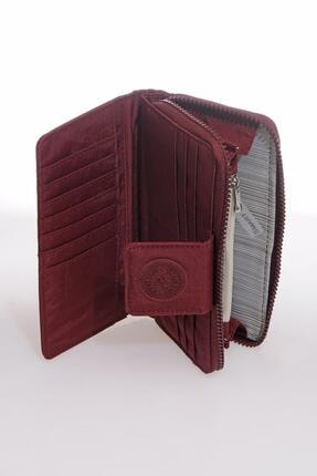 Smart Bags Smb3034-0021 Bordo Kadın Cüzdan 2