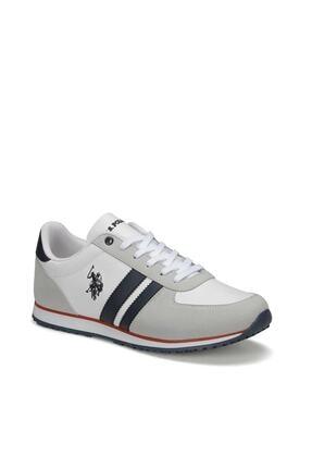 US Polo Assn PLUS WT 9PR Beyaz Erkek Sneaker Ayakkabı 100418097 1