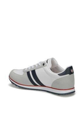 US Polo Assn PLUS WT 9PR Beyaz Erkek Sneaker Ayakkabı 100418097 2