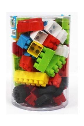 Deniz Oyuncak Lego Seti 72 Parça Ev Ve Araba Malzemeli 0