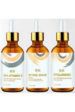 BB Vitamin C + Hyaluronic Acid + Retinol Cilt Serum Set 1