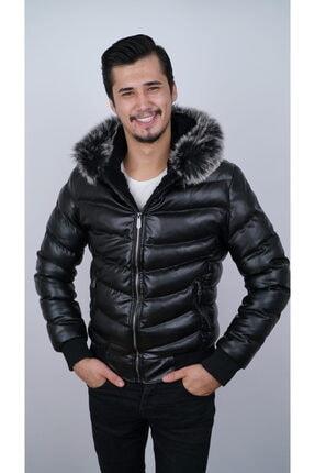 Ogb Tekstil Erkek Siyah Şişme Mont 0