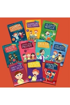 Mavi Kirpi Afacan Tayfa 1. Sınıf Ilk Okuma Seti 10 Kitap 0