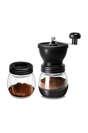 Doğal Life Öğütücülü Kahve Değirmeni Cam Seramik 0