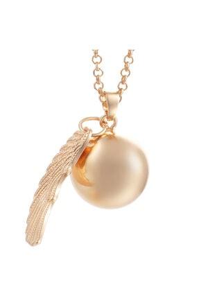 Angel Harmoni Hamile Kolyesi- Altın Rengi POANG12346