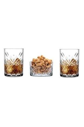 Paşabahçe Timeless 3 Parça 2 Kişilik Viski Bardağı Seti 0