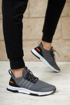 meyra'nın ayakkabıları Erkek Sneakar Füme 3